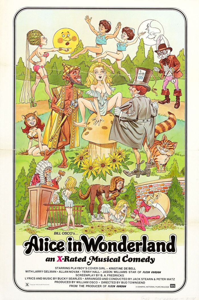 x-rated alice in wonderland