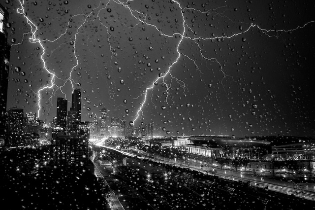 amazing lightning storm