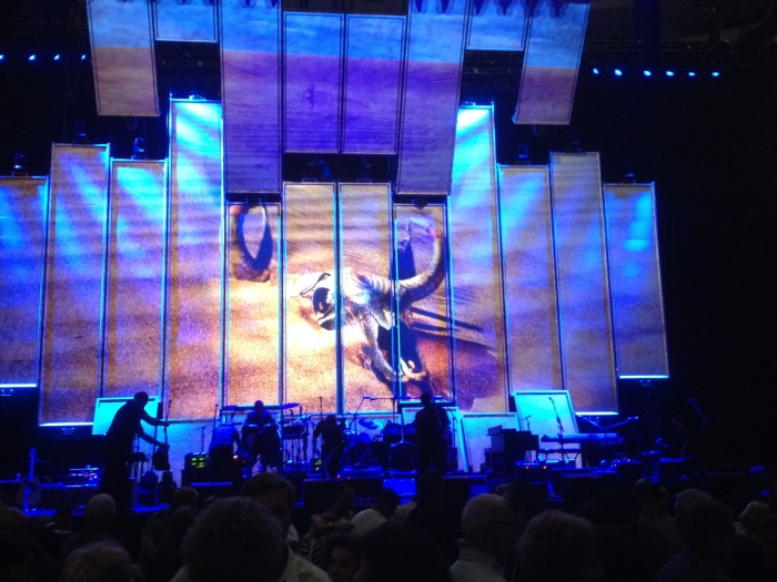 Eagles concert setting