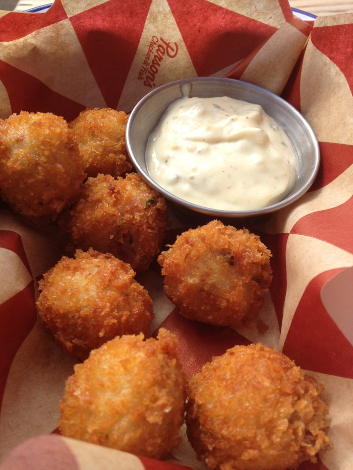 fried baccala fritters