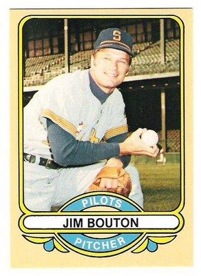 Jim Bouton Seattle Pilots