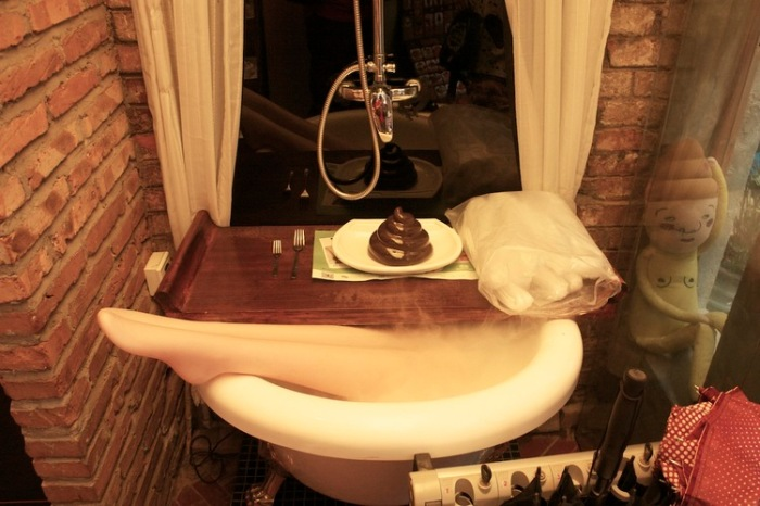 Shanghai toilet restaurant