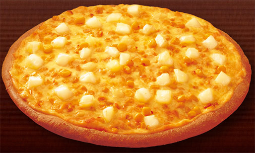 wacky pizza toppings creamed corn
