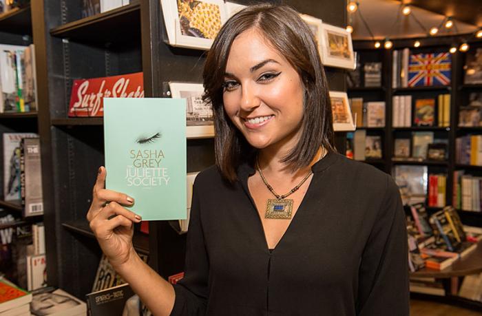 Author Sasha Grey