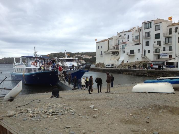 Cadaques ferry passengers