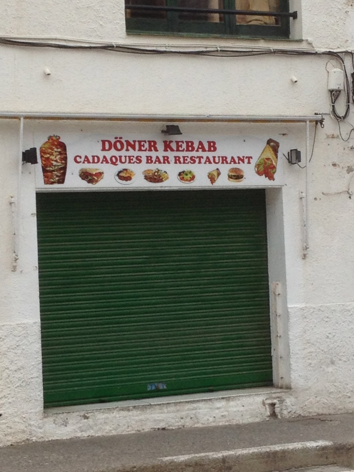 Cadaques kebab restaurant