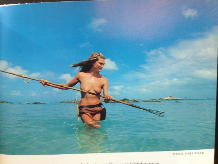 Castaway on a deserted island