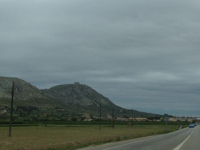 Costa Brava countryside highway