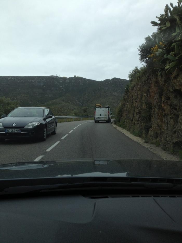 Costa Brava mountain highway