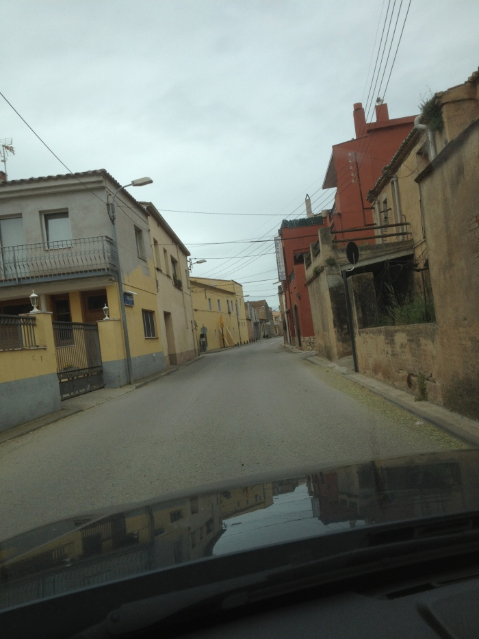 Costa Brava small town roads