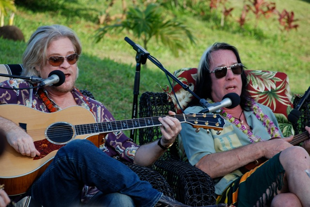 Daryl Hall and Todd Rundgren