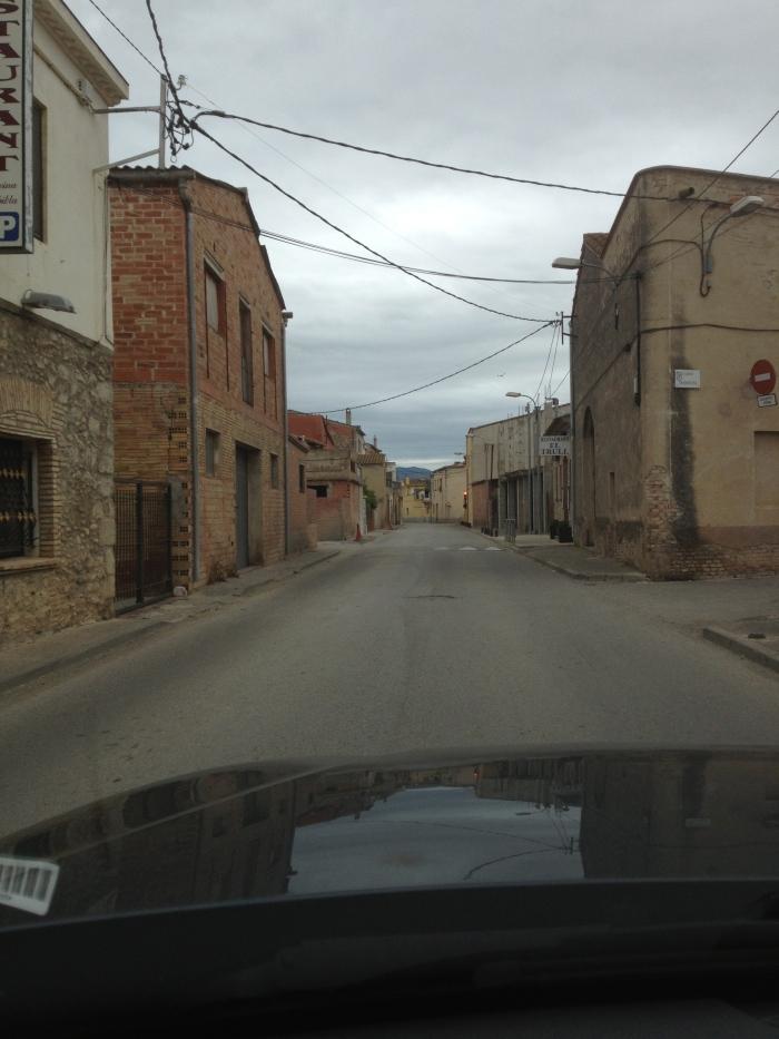 Driving thru Costa Brava small towns to Cadaques
