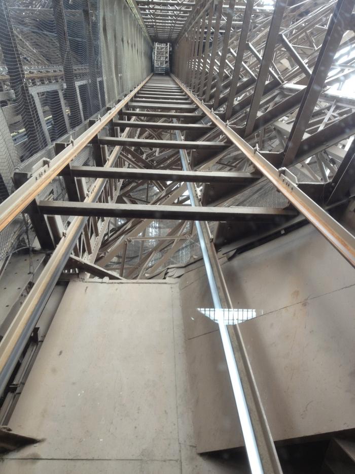 Eiffel tower Jules Verne