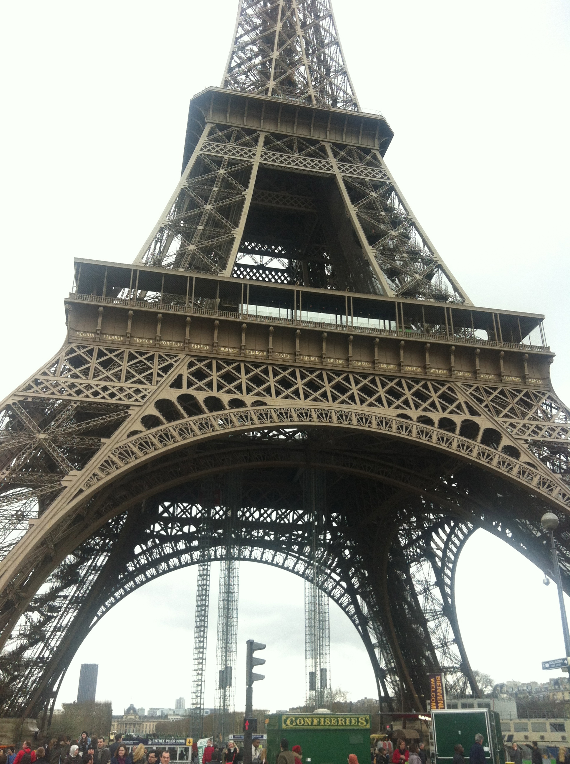 Lunch On Top Of The Eiffel Tower Paris Tastes Great From