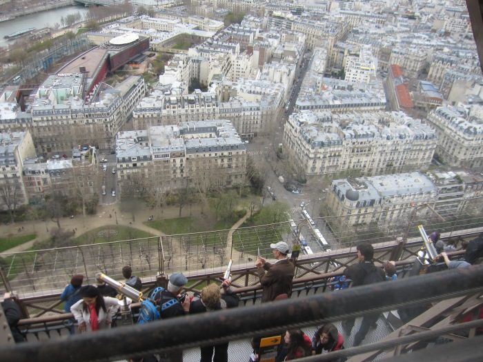 Eiffel Tower Paris observation deck