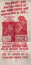 Mark Of The Devil Vomit Bag