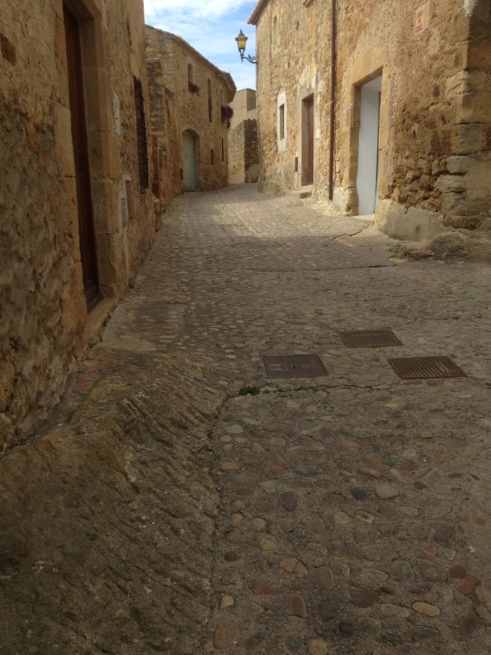 Medieval town of Pais Spain