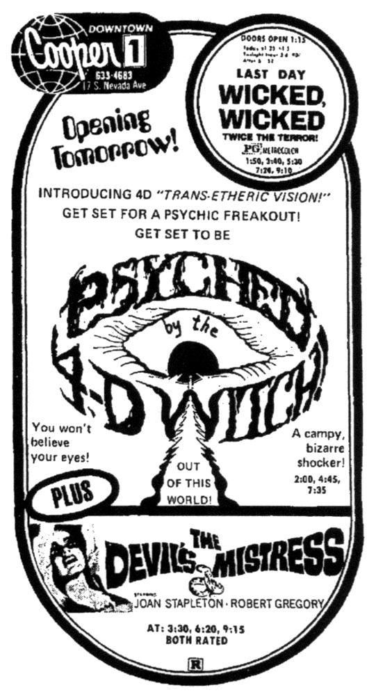 Psyched By The 4D Witch!