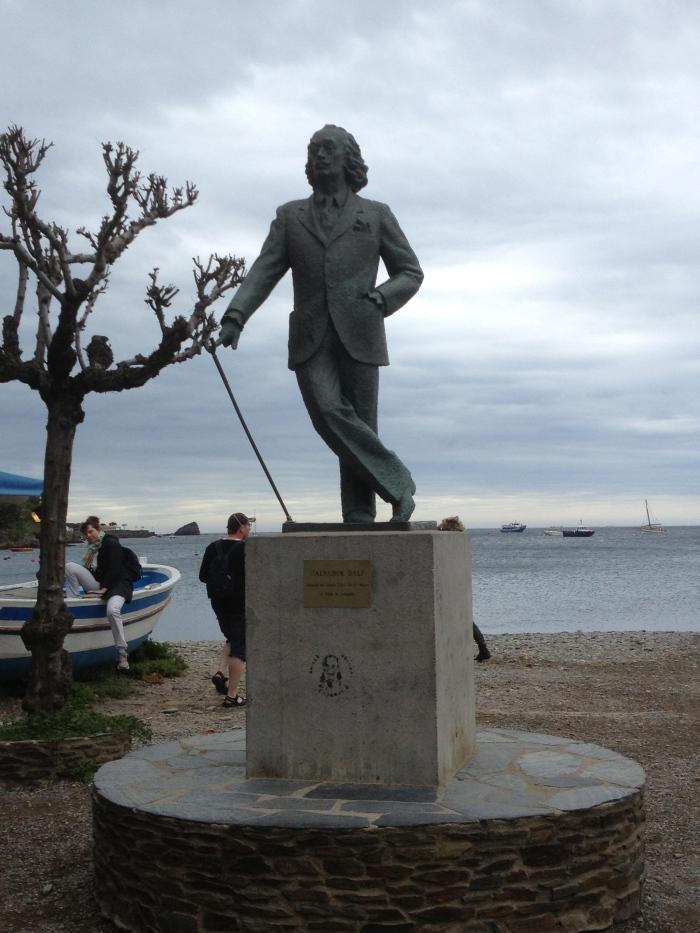 Salvador Dali Statue Spain