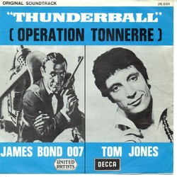 Tom Jones thunderball