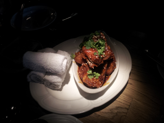 Au Cheval's fried chicken