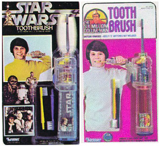 bizarre star wars products toothbrush