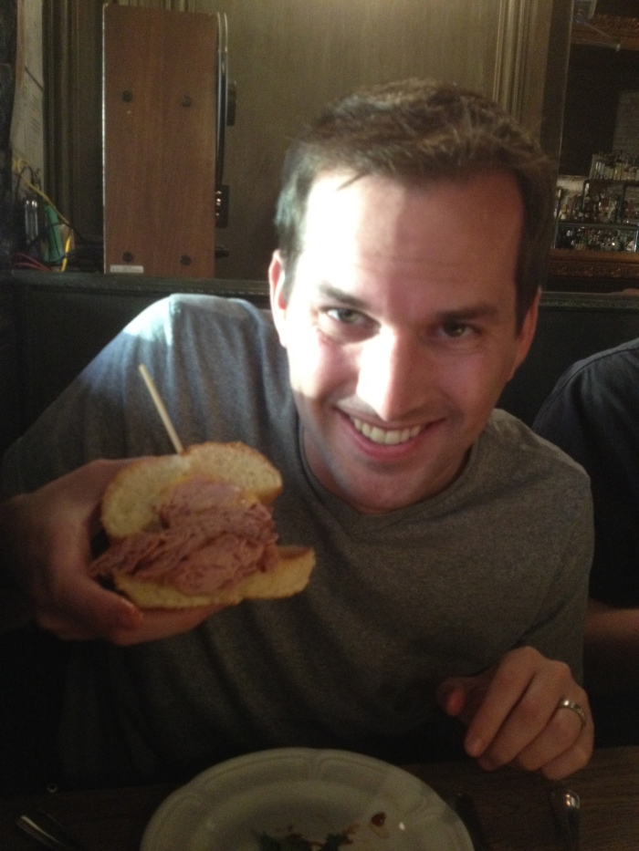 Mike Minick And The Bologna Sandwich