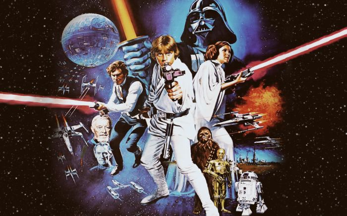 Original Star Wars artwork