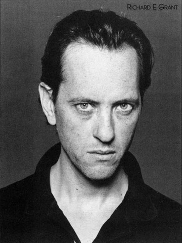 British Actor Richard E. Grant