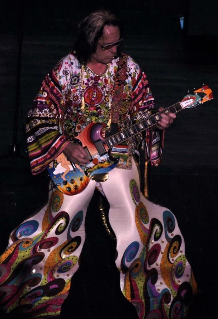 Todd Rundgren wacky outfit
