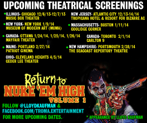 Troma screenings