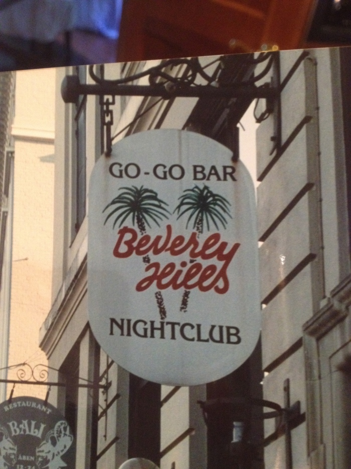 Copenhagen Beverly Hills Go Go Sign