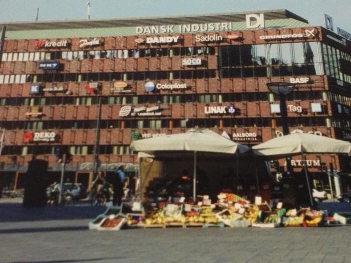 Copenhagen building signage