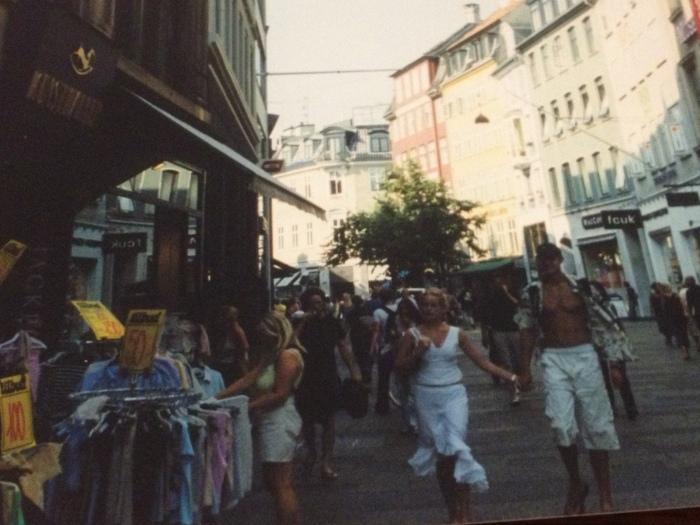 Copenhagen city streets