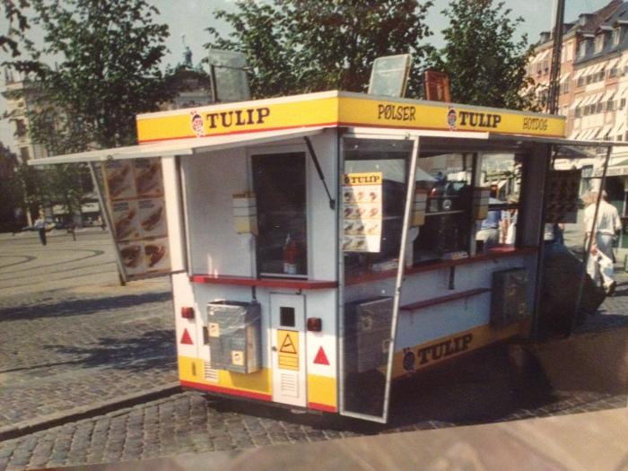 Copenhagen kiosk food stand