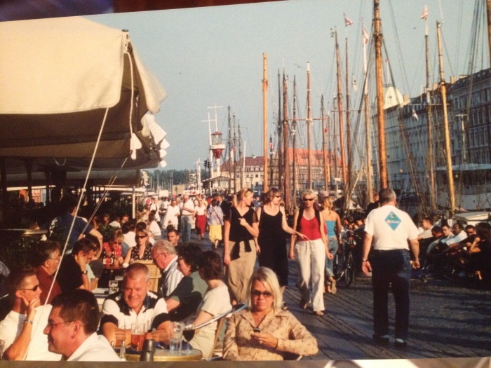 Copenhagen waterfront dining tourism