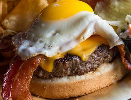 Hangover burger recipe