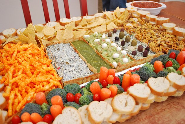 Super Bowl stadium food