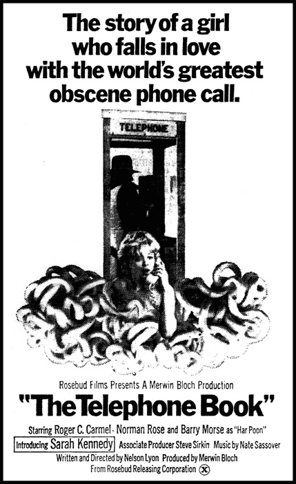 telephone book obscure movie