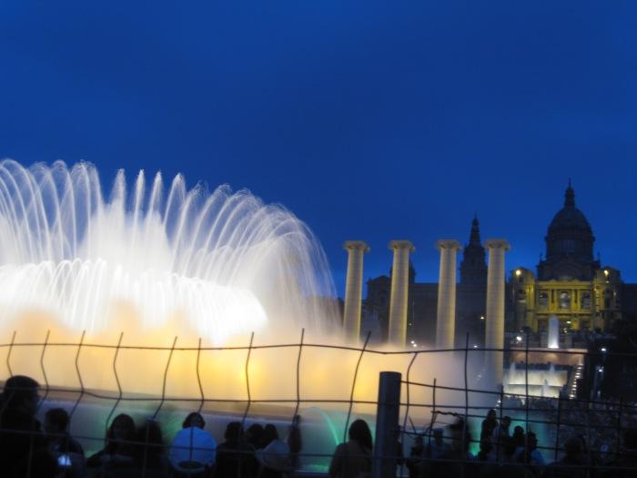 Barcelona Magic Fountain entrance