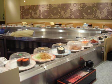 conveyor belt restaurants