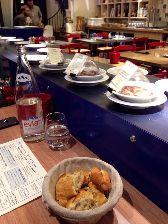 french restaurant conveyor belt