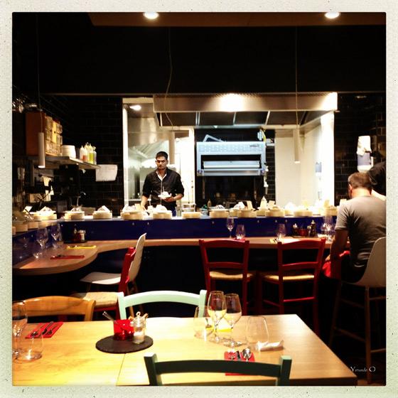 Medi-Terra-Nea-conveyor belt restaurant