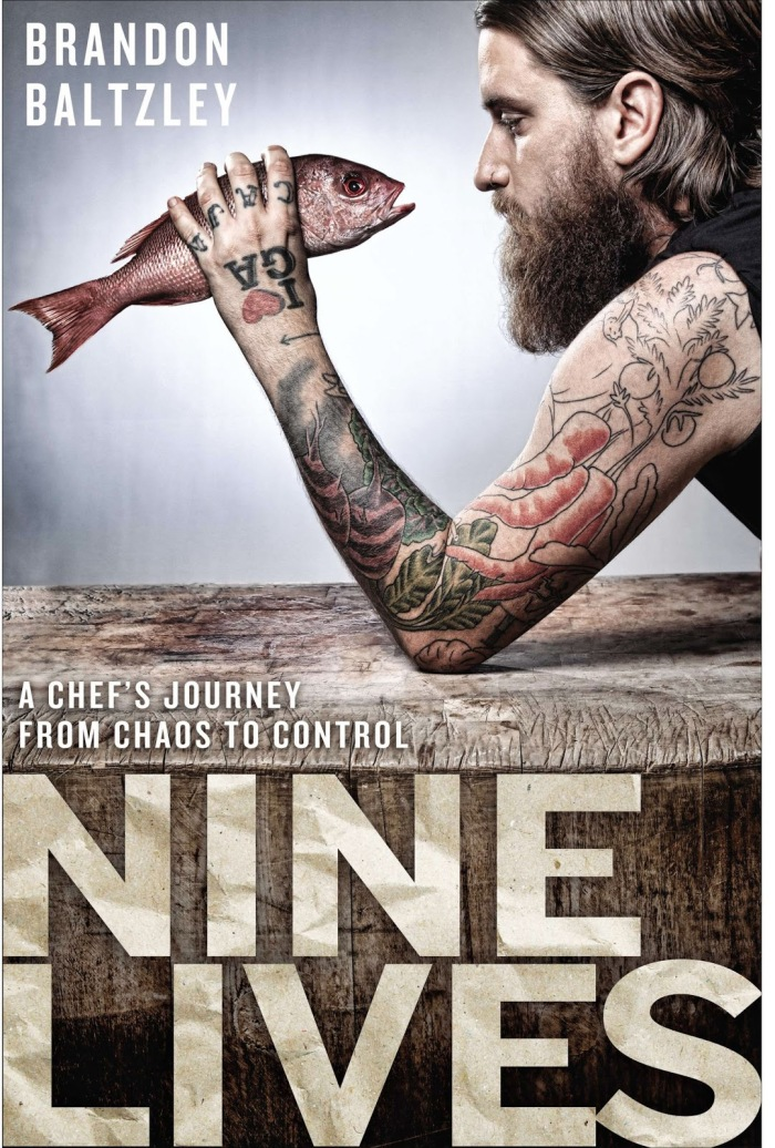 Nine Lives Chef memoir