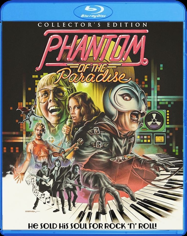 Phantom Of The Paradise blu-ray special edition