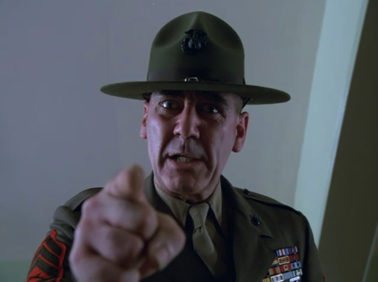 Full Metal Jacket Foul Mouthed Memories From Sgt Hartman R Lee Ermey S...