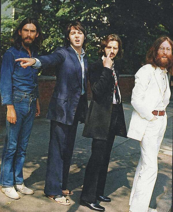 The Beatles Abbey Road Pictures
