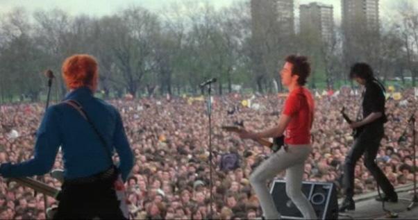 The Clash Live rude boy