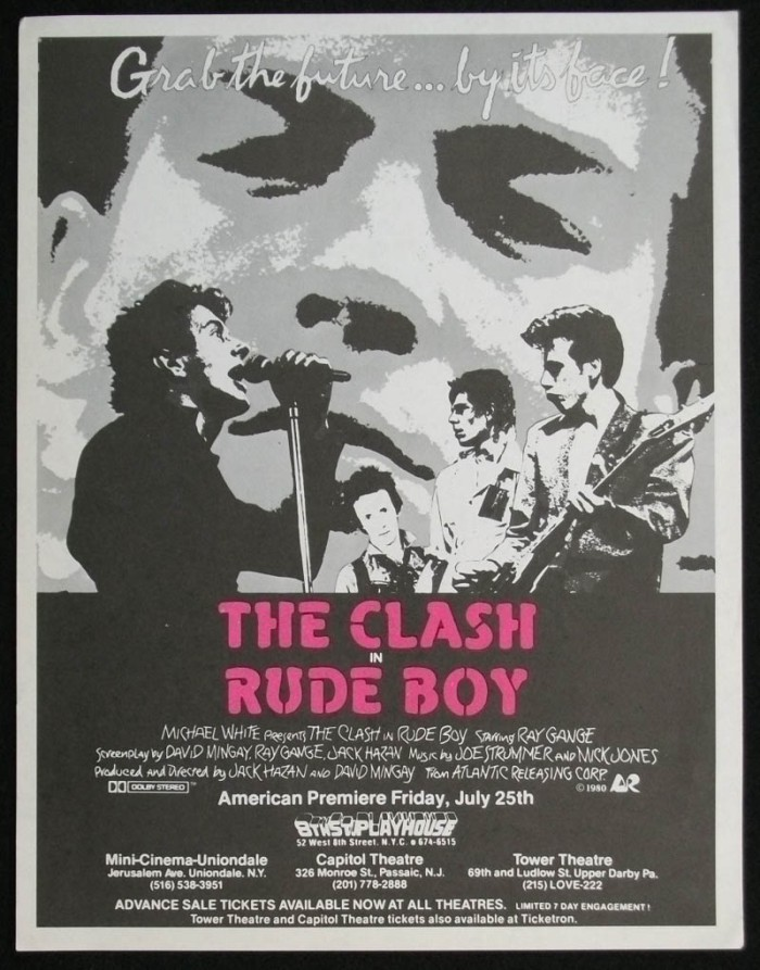 The Clash Rude Boy