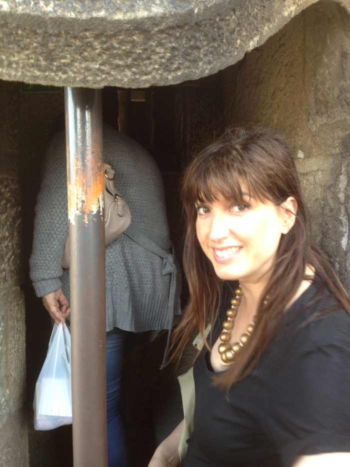 Alex at Sagrada Tower